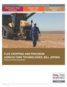 "Cover image of ""Flex Cropping: Bill Jepsen (Farmer to Farmer Case Study Series)"""