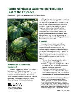 Pacific Northwest Watermelon Production