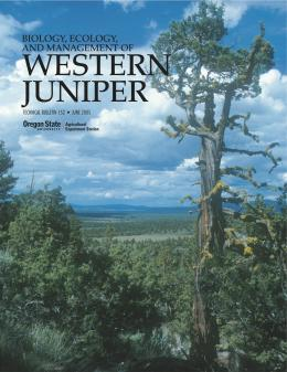 Image of Biology, Ecology, and Management of Western Juniper (Juniperus occidentalis) publication